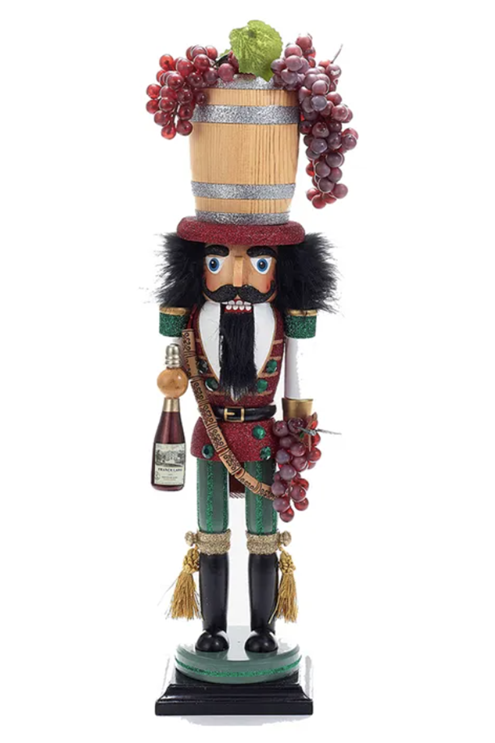 Wine Barrel Nutcracker