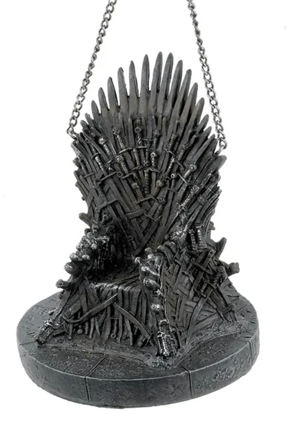 Resin Ornament - Game of Thrones Iron Throne