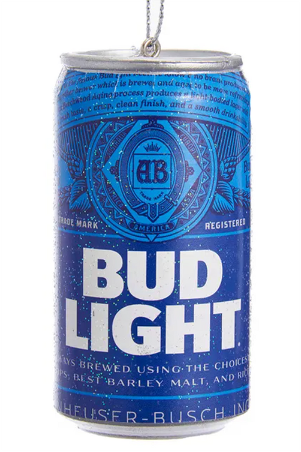 Funky Ornament - Bud Light Can