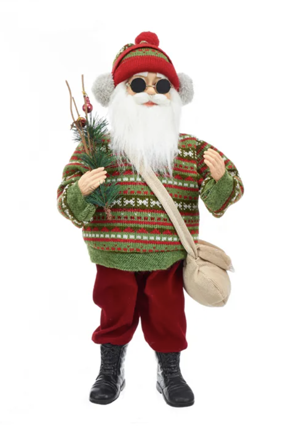 Cool Yule Santa Figure