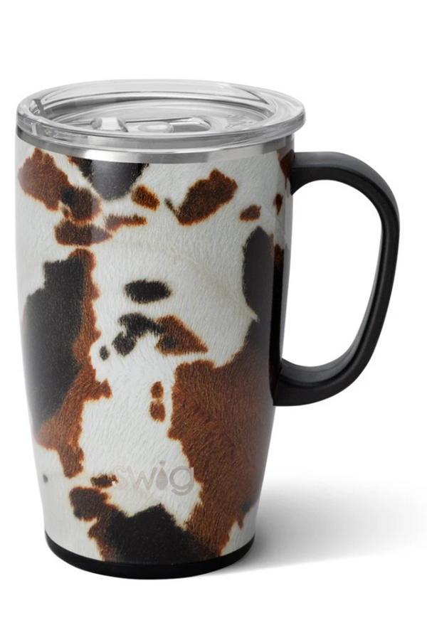 Modern Coffee Mug - Hayride Cow