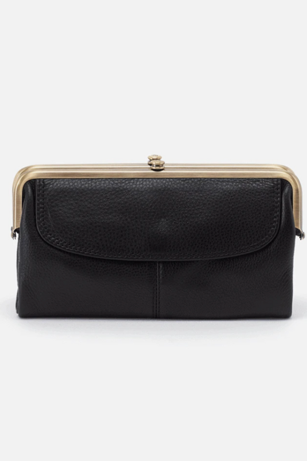 Lauren Wallet - Velvet Hide Black