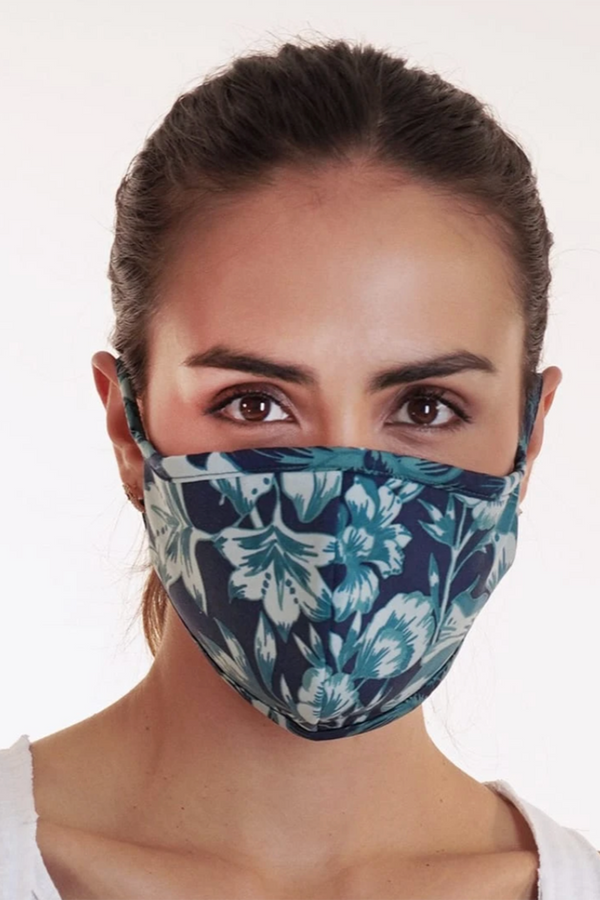 Reversible Face Mask - Dark Hawaii