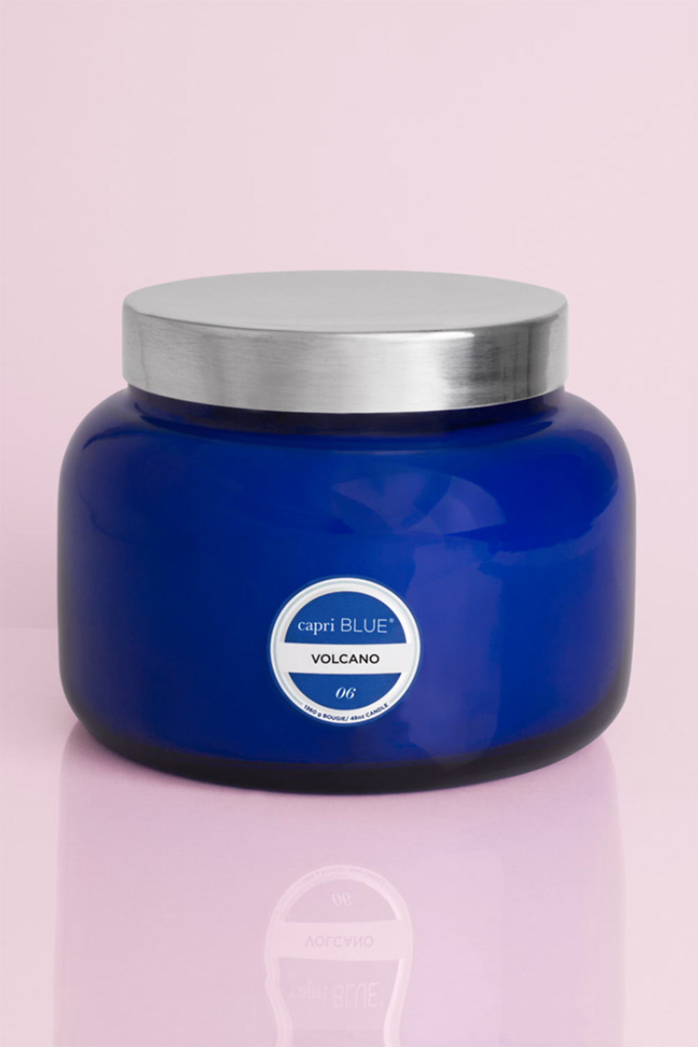 Jumbo Signature Candle - Volcano - Blue