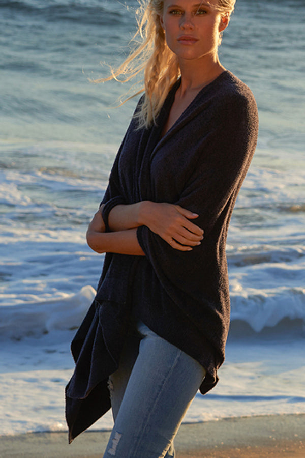 Bamboo Chic Lite Weekend Wrap - Black Midnight