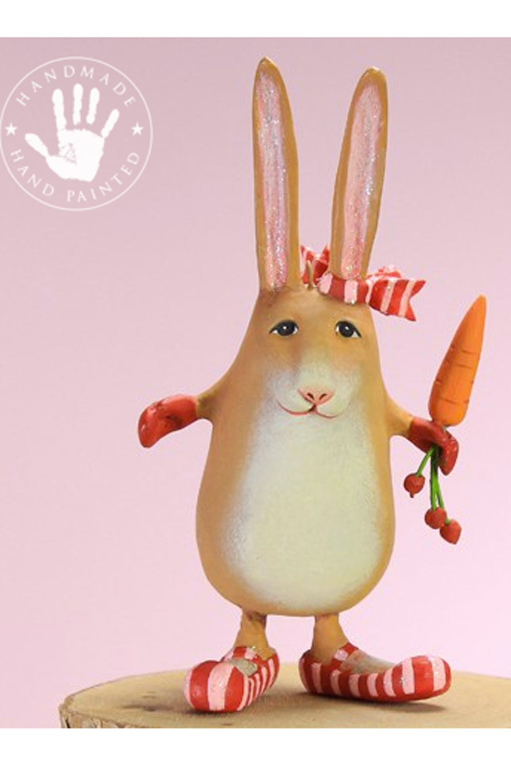 Mini Ornament - Rebecca Rabbit