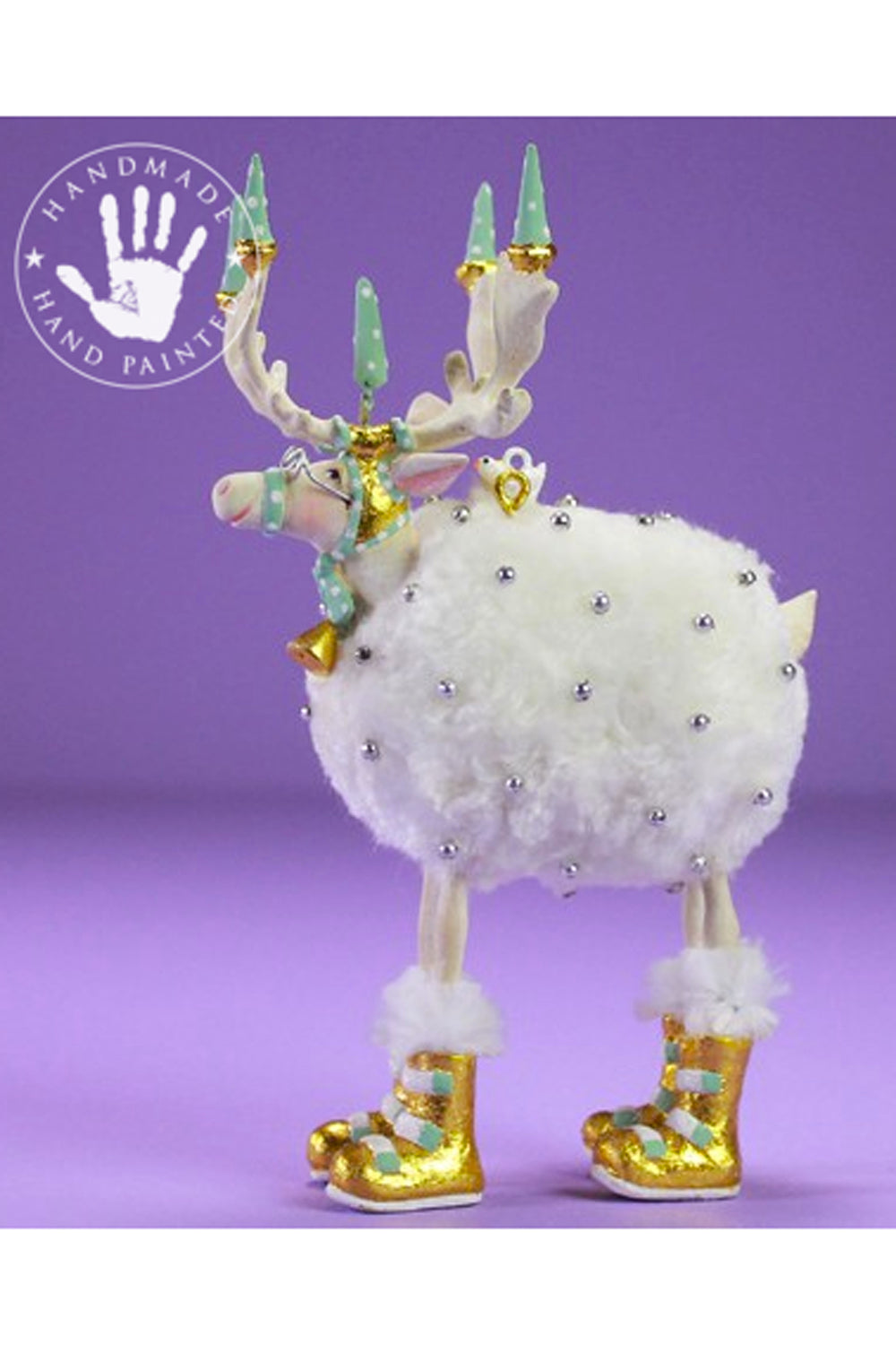 Mini Moonbeam Reindeer Ornament - Blitzen