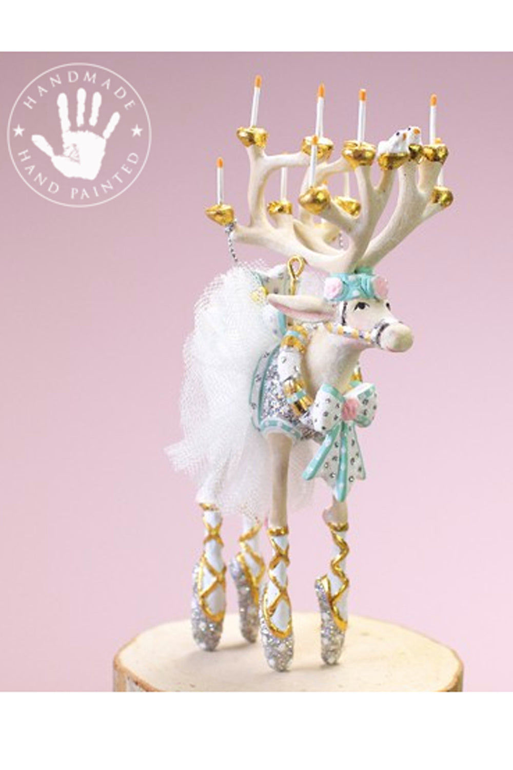 Mini Moonbeam Reindeer Ornament - Dancer