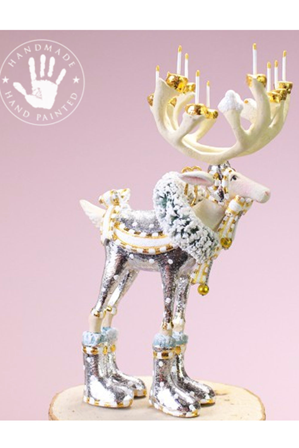 Mini Moonbeam Reindeer Ornament - Dasher