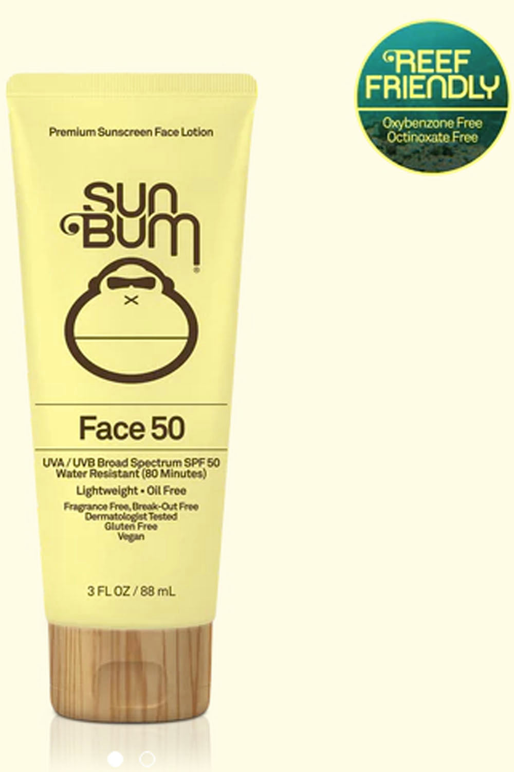 Sun Bum Lotion Tube *Face* - SPF50