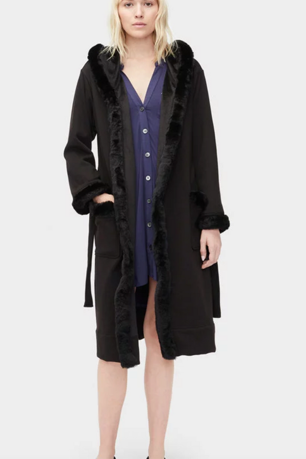"The ""Duffield Deluxe"" Robe - Black"