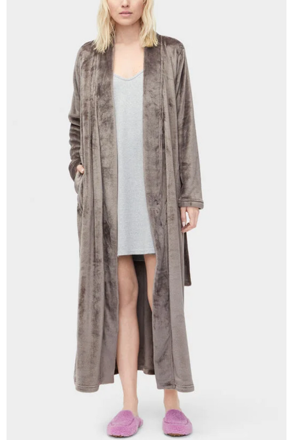 "The ""Marlow"" Robe - Charcoal"