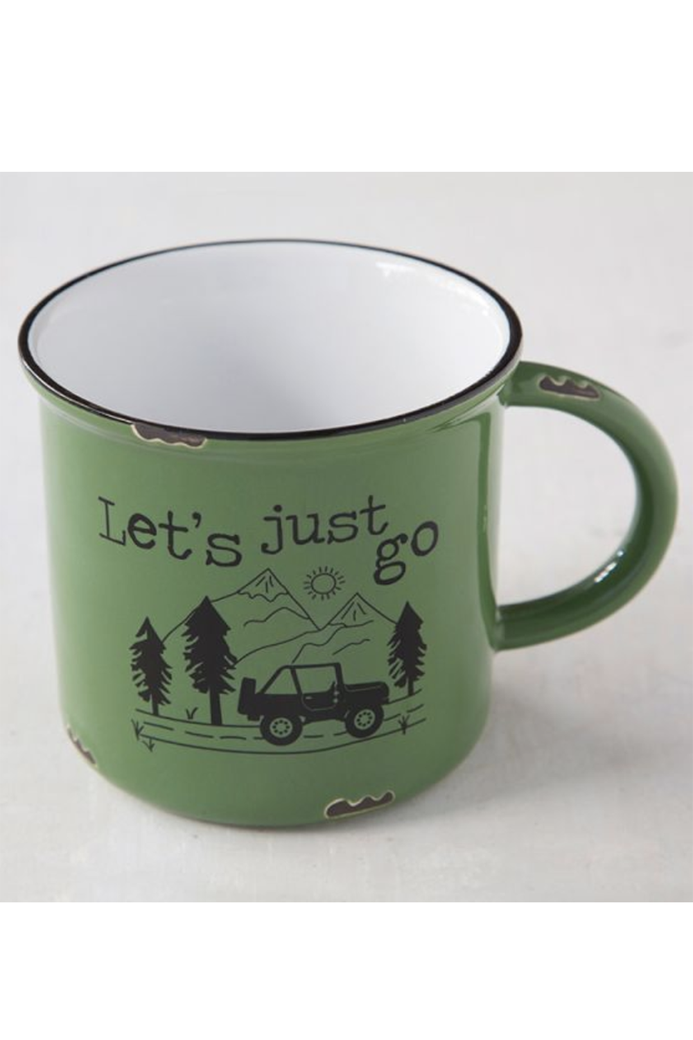 Camp Mug - Let's Just Go