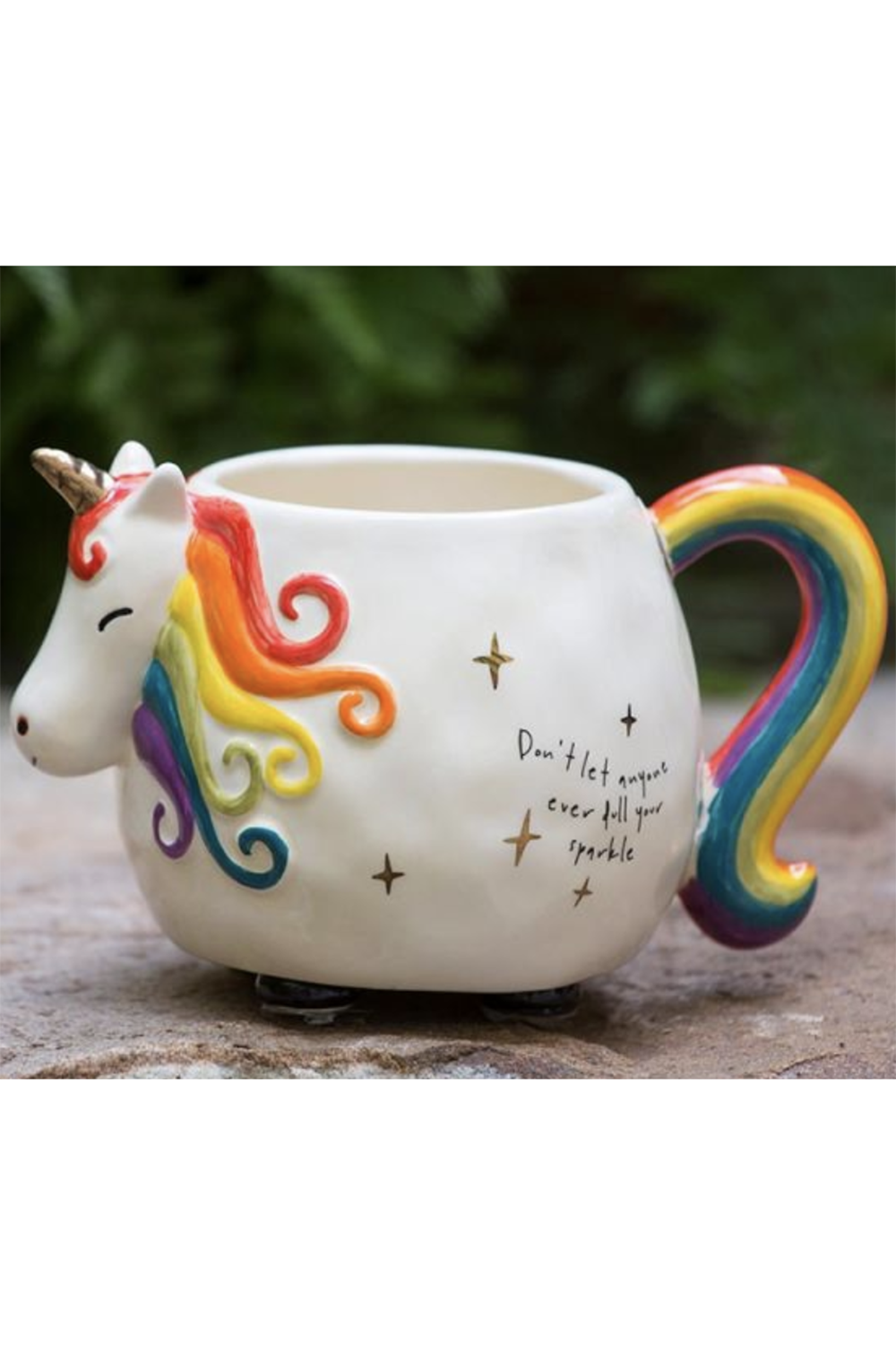 Folk Critter Mug - Unicorn