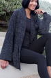 CozyChic Laguna Jacket - Carbon Black