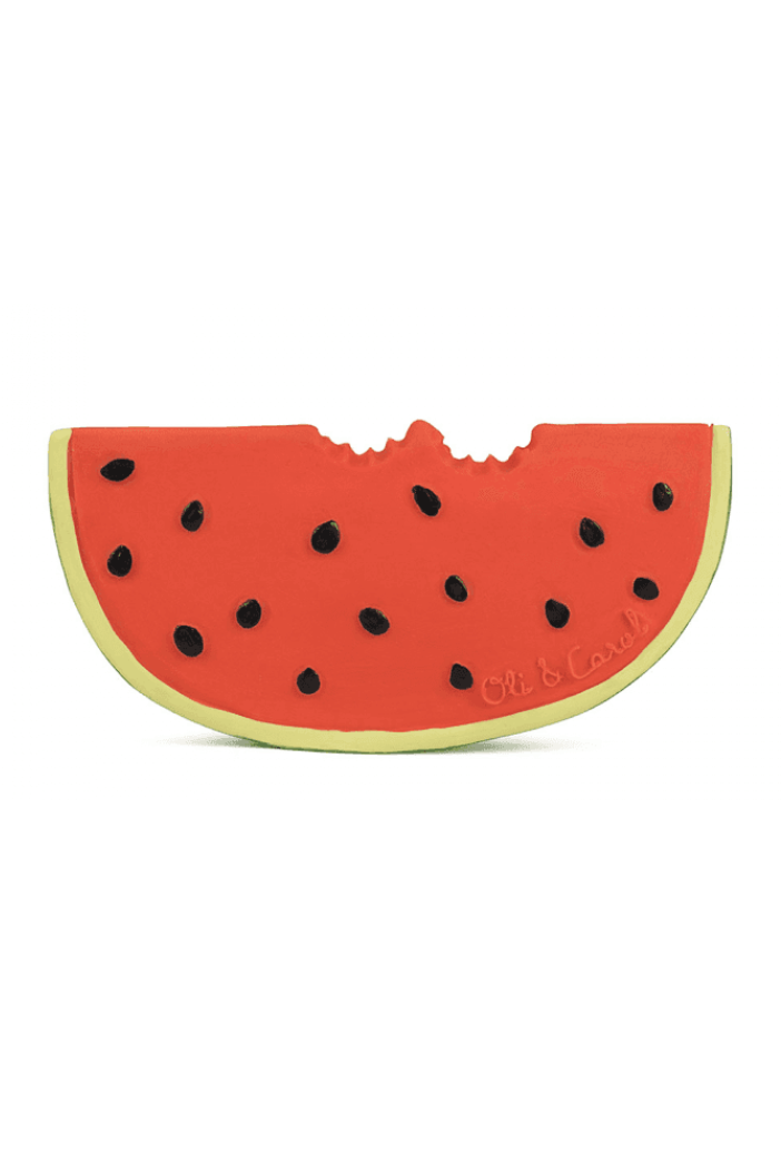 Rubber Baby Teether - Wally the Watermelon