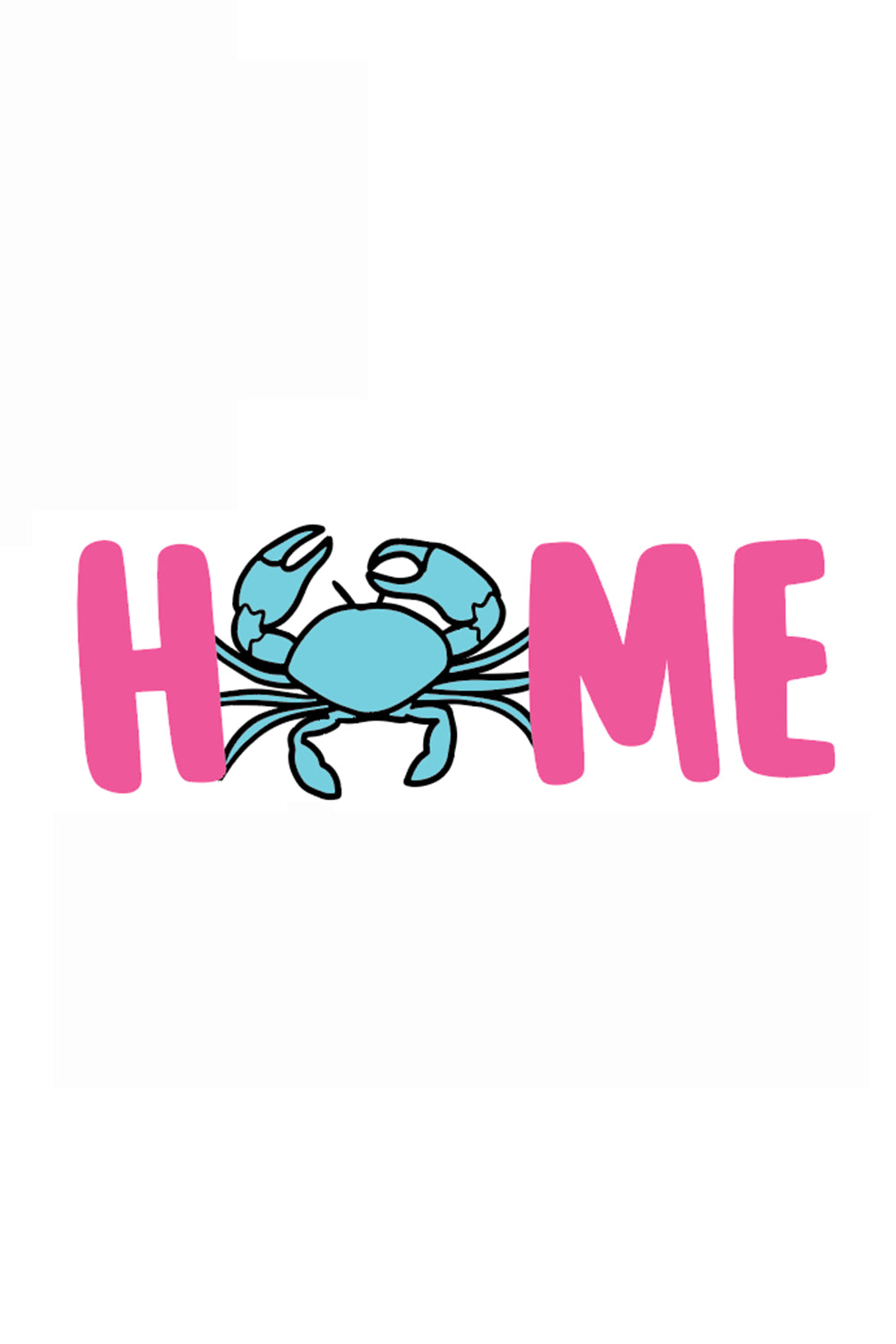 Trendy Sticker - Home Crab
