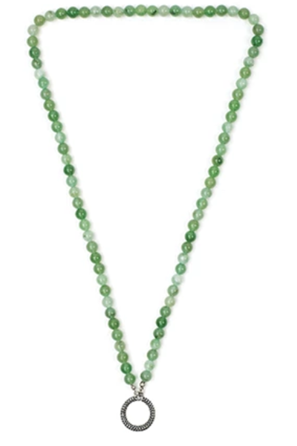 Beaded Reading Glasses Cord - Jade