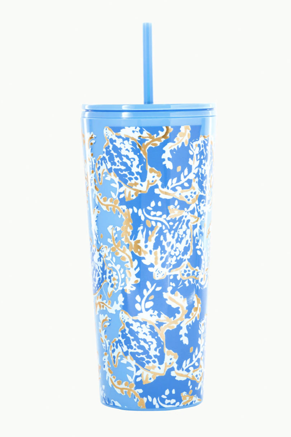 Lilly Straw Tumbler - Turtley Awesome
