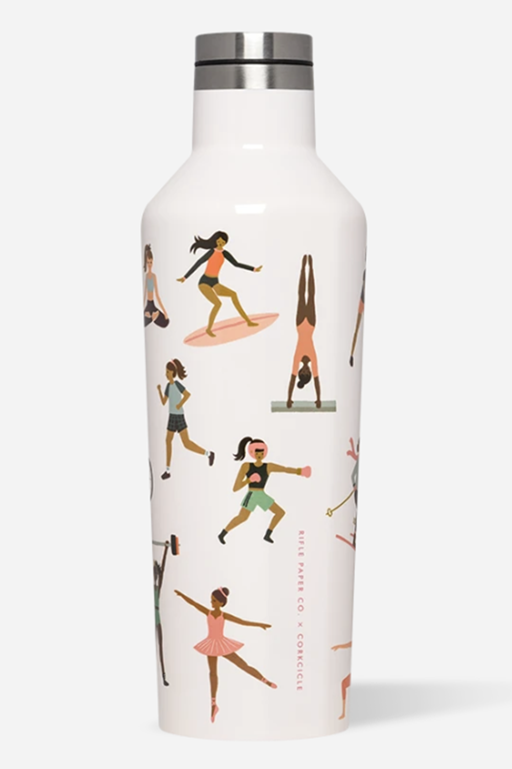 *Rifle Paper* Modern Corkcicle Canteen - Sports Girls