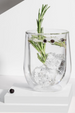 Glass Corkcicle Stemless Double Pack - Clear