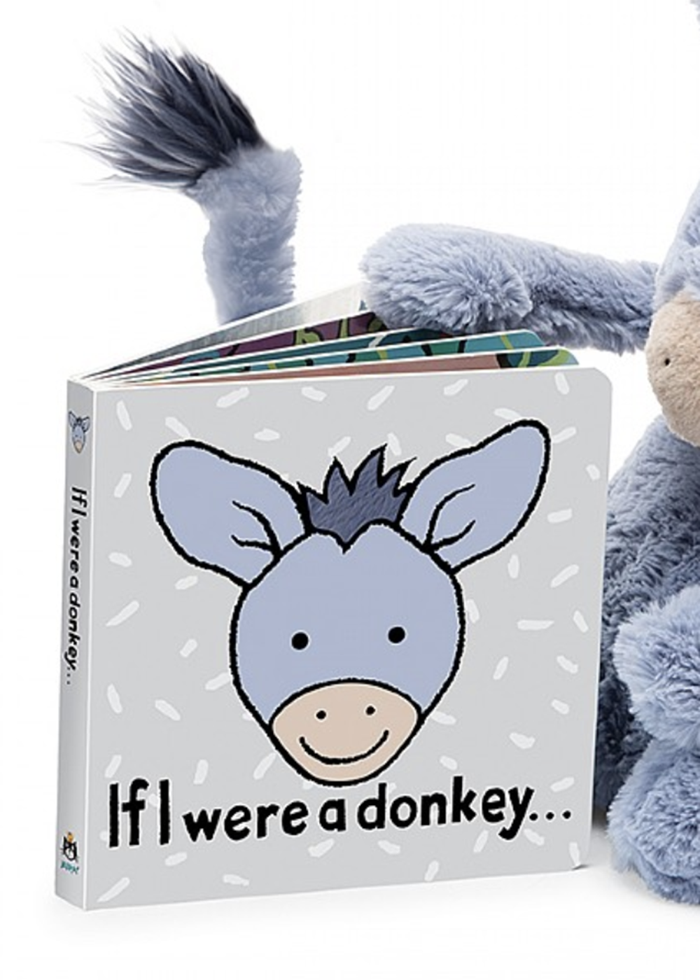 Jellycat Book - If I Were a Donkey
