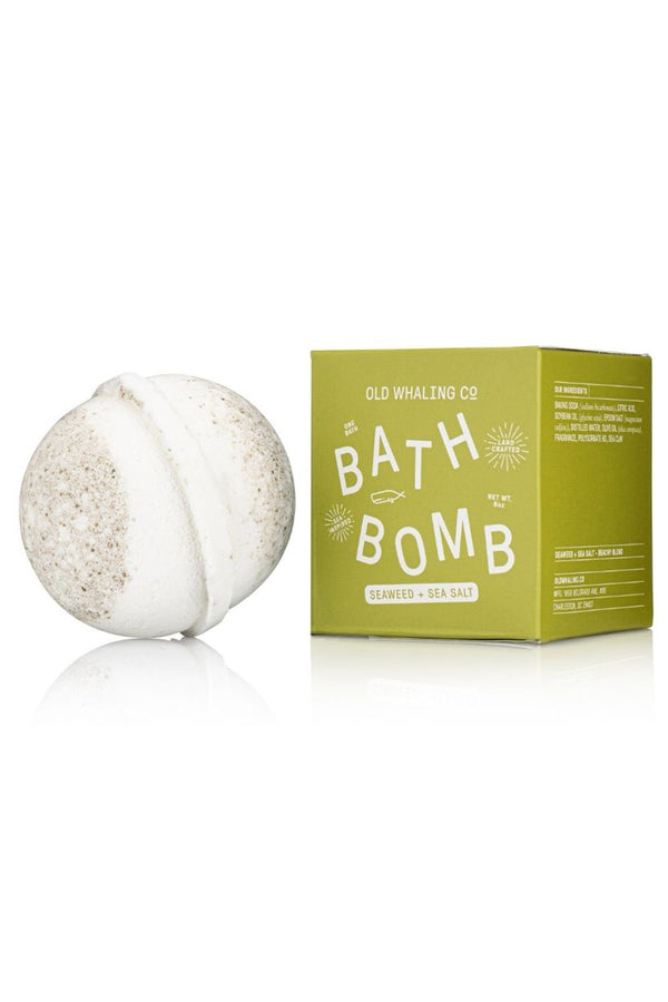 Boxed Bath Bomb - Seaweed Sea Salt