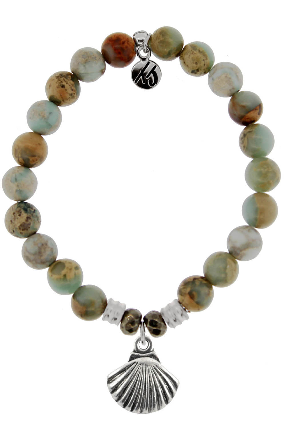 TJ Beaded Bracelet - Serpentine Stones