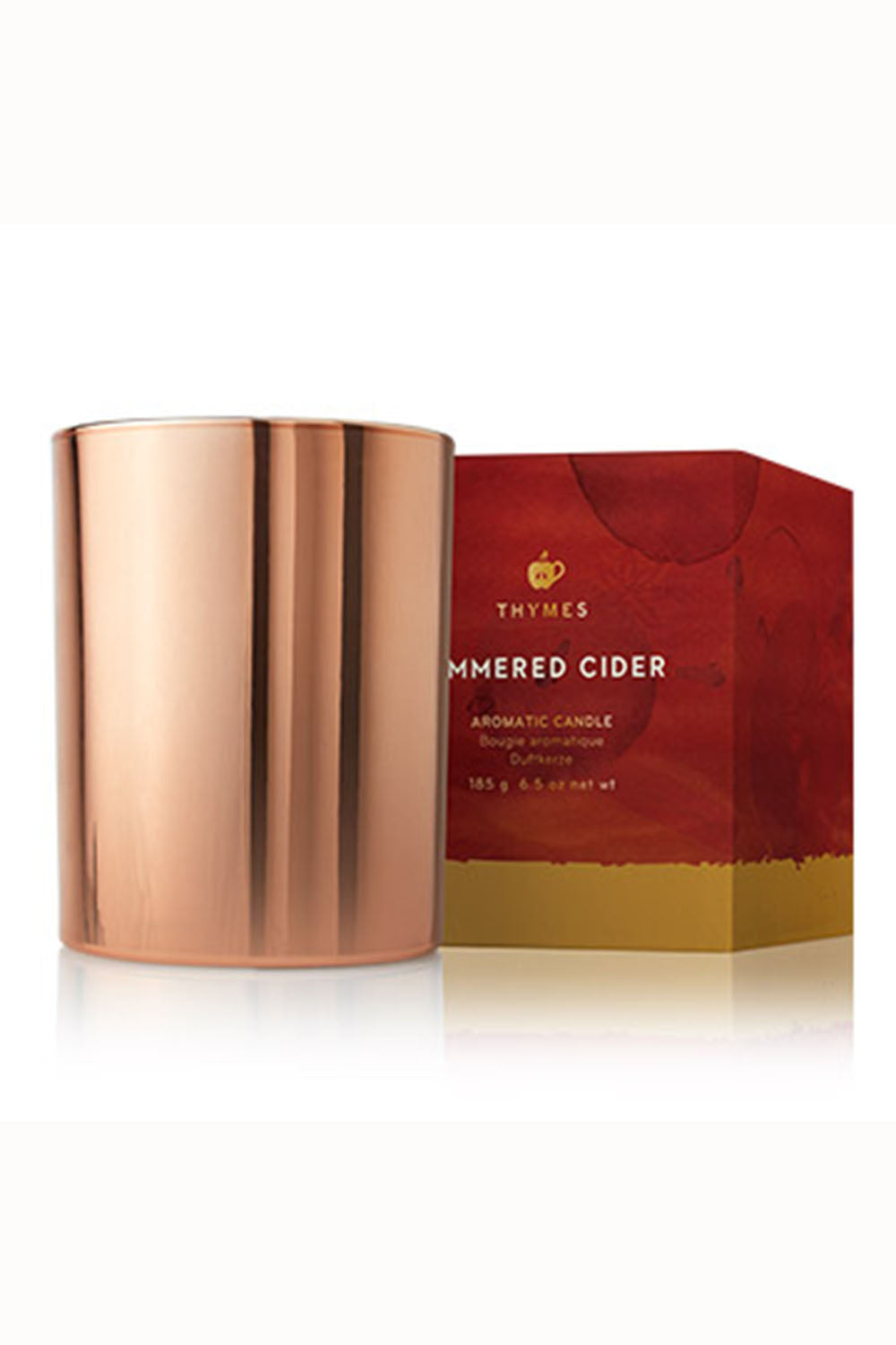 Simmered Cider Copper Candle in Box