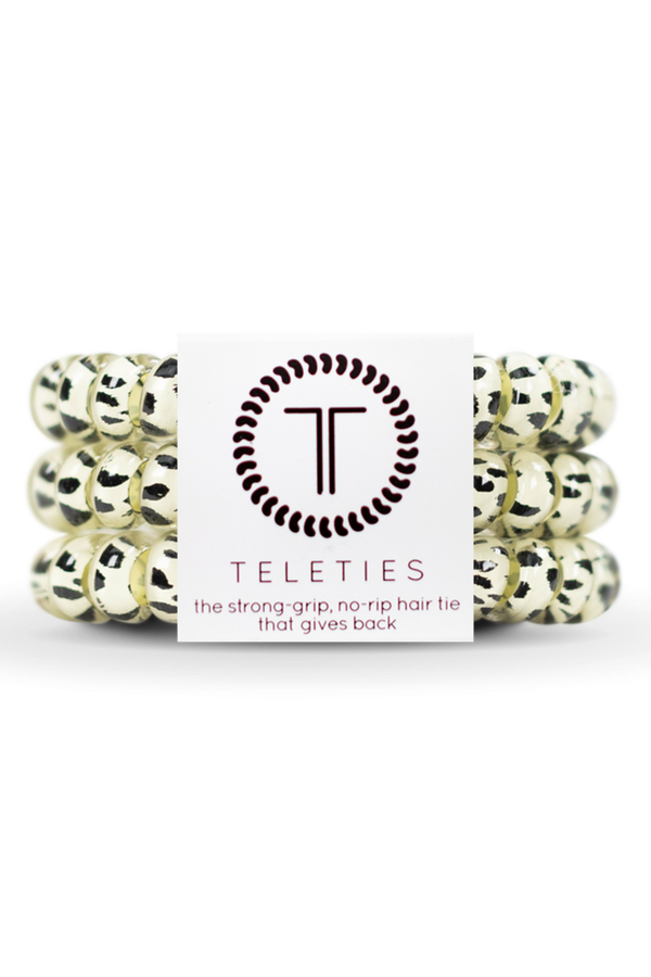Teleties Hair Ties - Snow Leopard