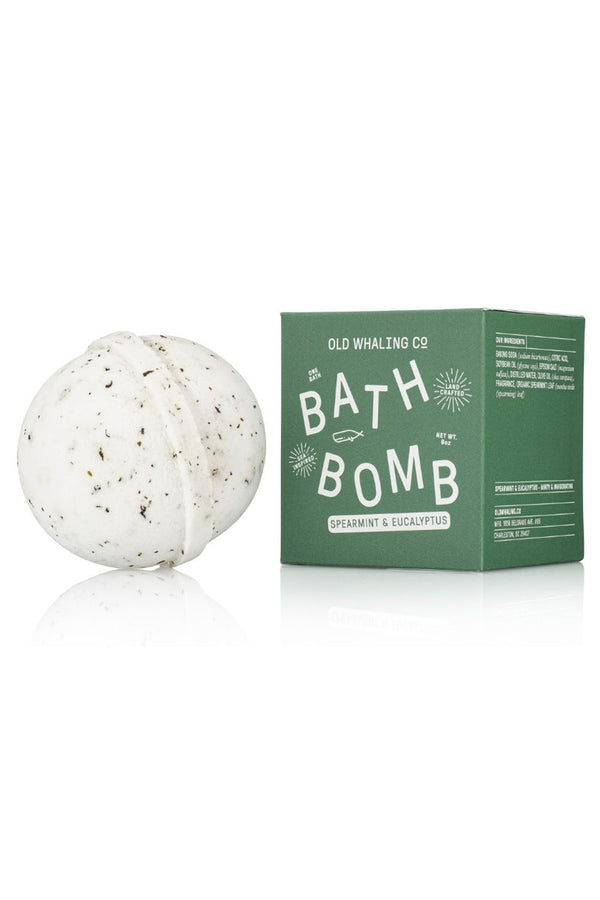 Boxed Bath Bomb - Spearmint + Eucalyptus