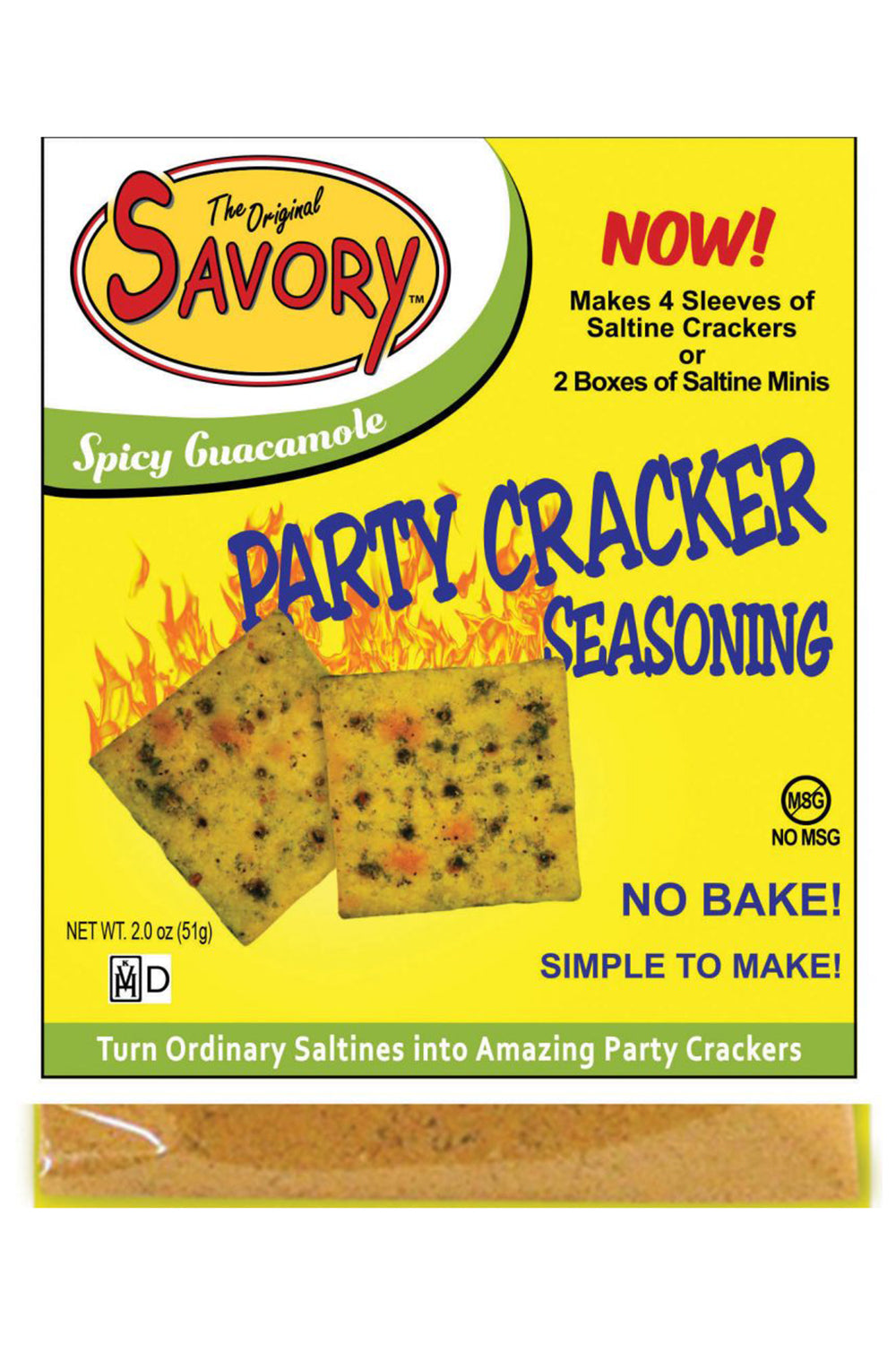 Savory Cracker Mix - Spicy Guacamole