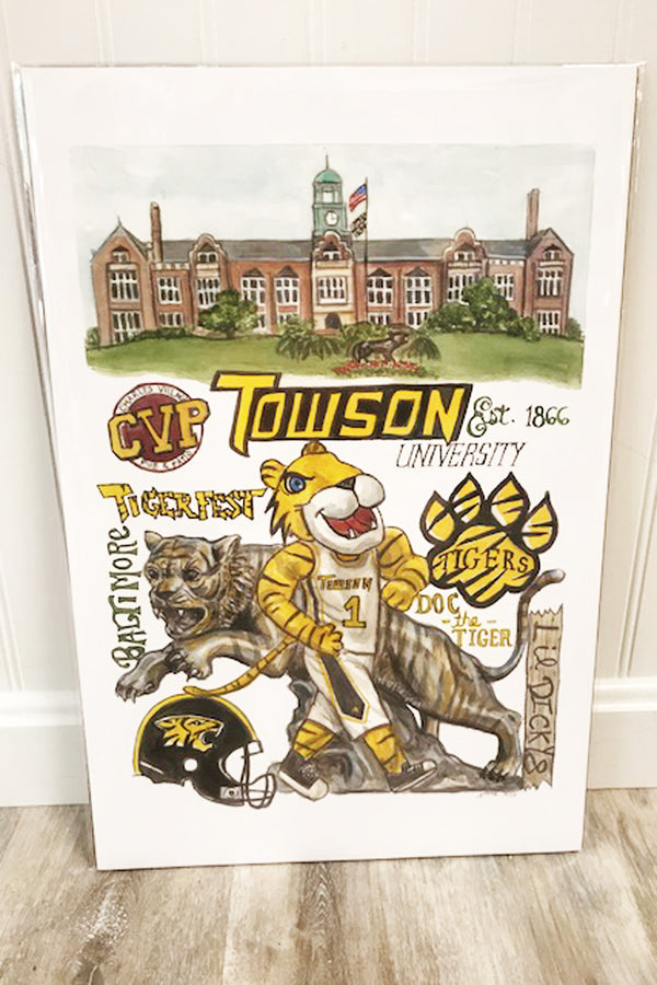 Unframed Collage - Towson University