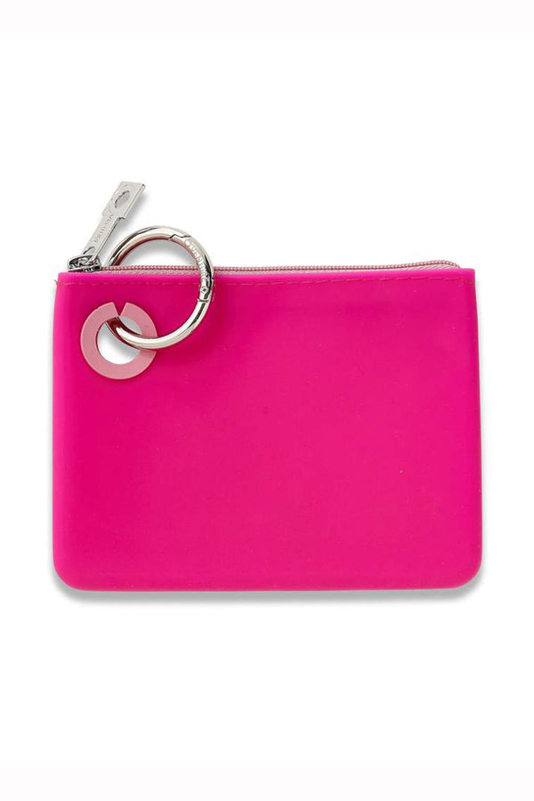 Silicone Pouch Mini - Tickled Pink