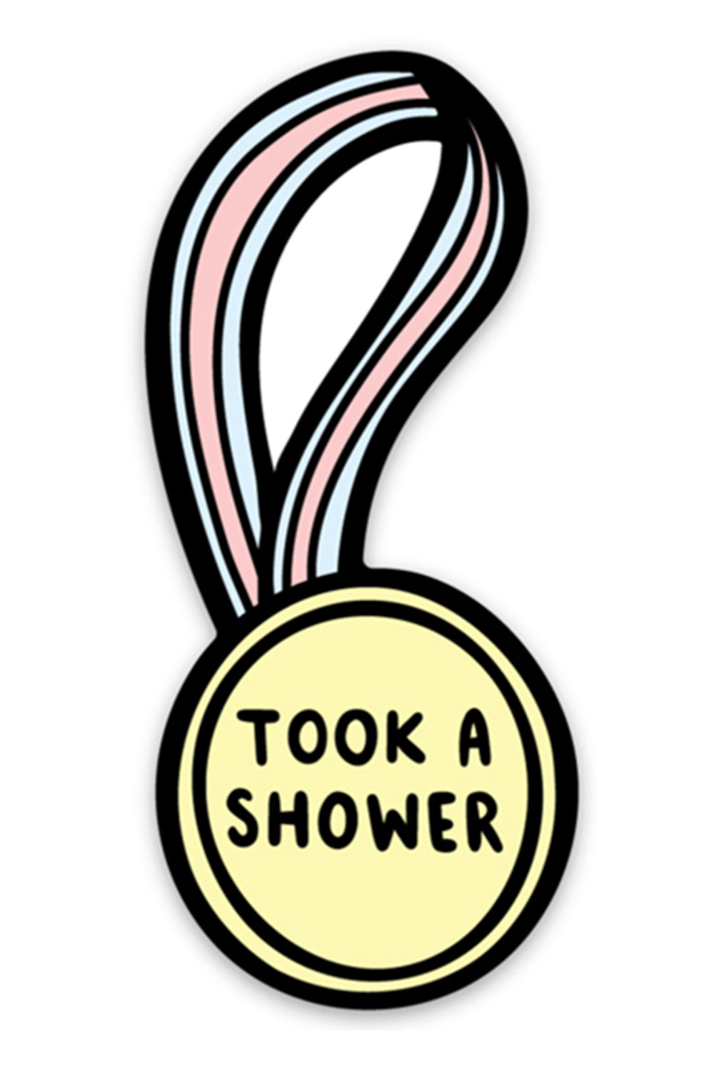 Trendy Sticker - Took a Shower