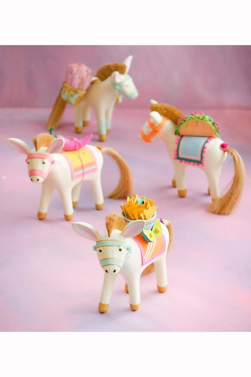 Funky Ornament - Busby the Burro & Friends