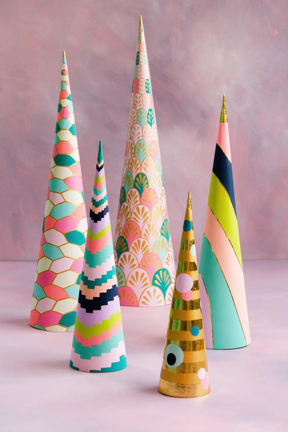 House of Glitter Cone Tree