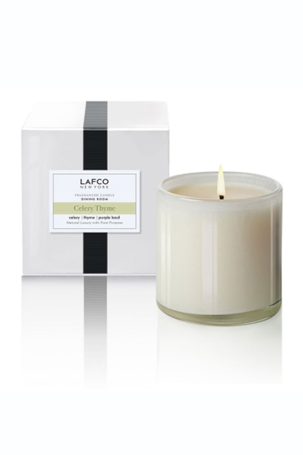 "Lafco Candle - ""Dining Room"" Celery Thyme"