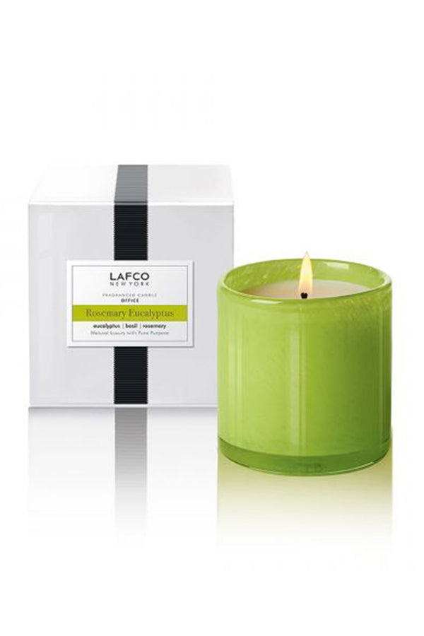 "Lafco Candle - ""Office"" Rosemary Eucalyptus"