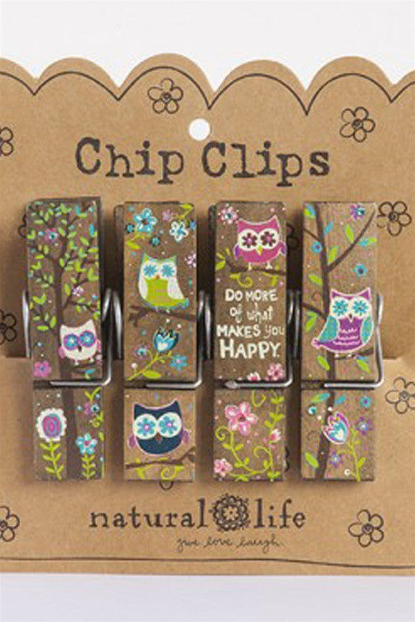 Chip Clip Set - Do More of What Makes You Happy