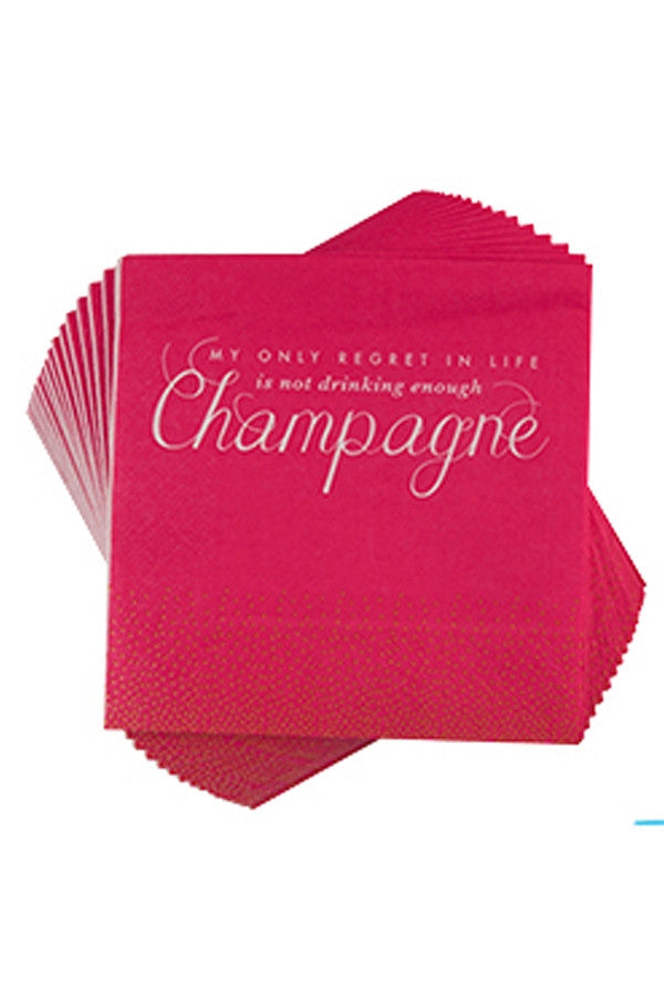 Cocktail Napkins - Not Enough Champagne