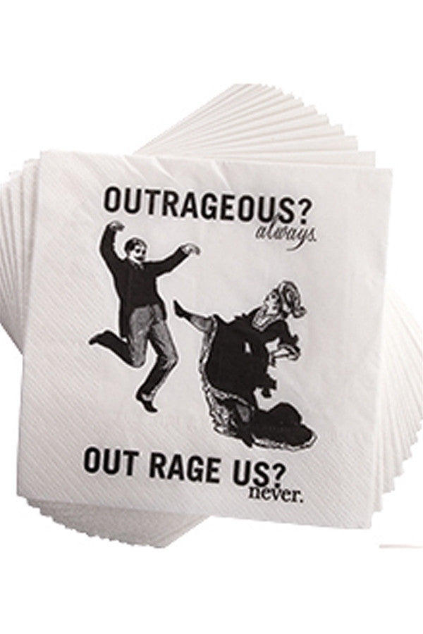 Cocktail Napkins - Outrageous