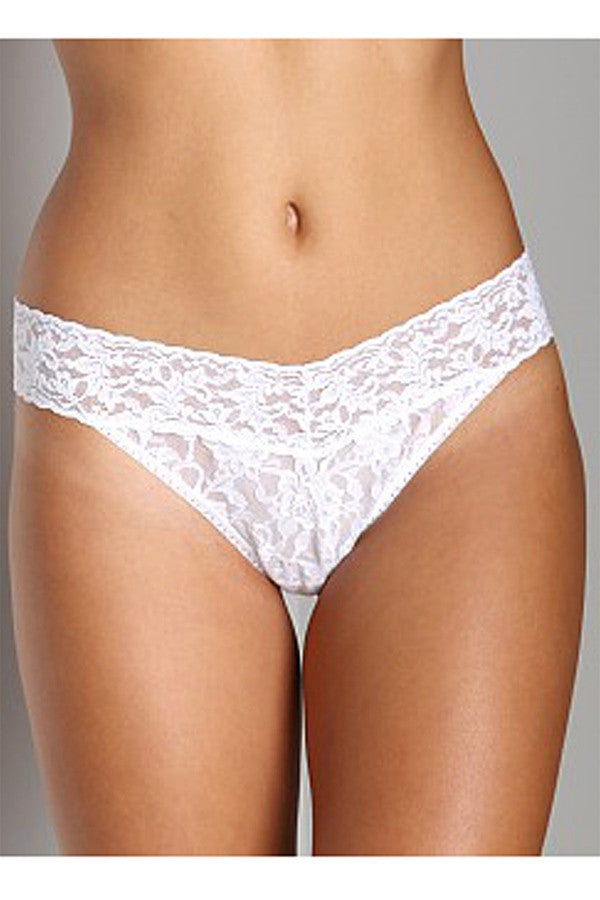 Original Rise Thong - White