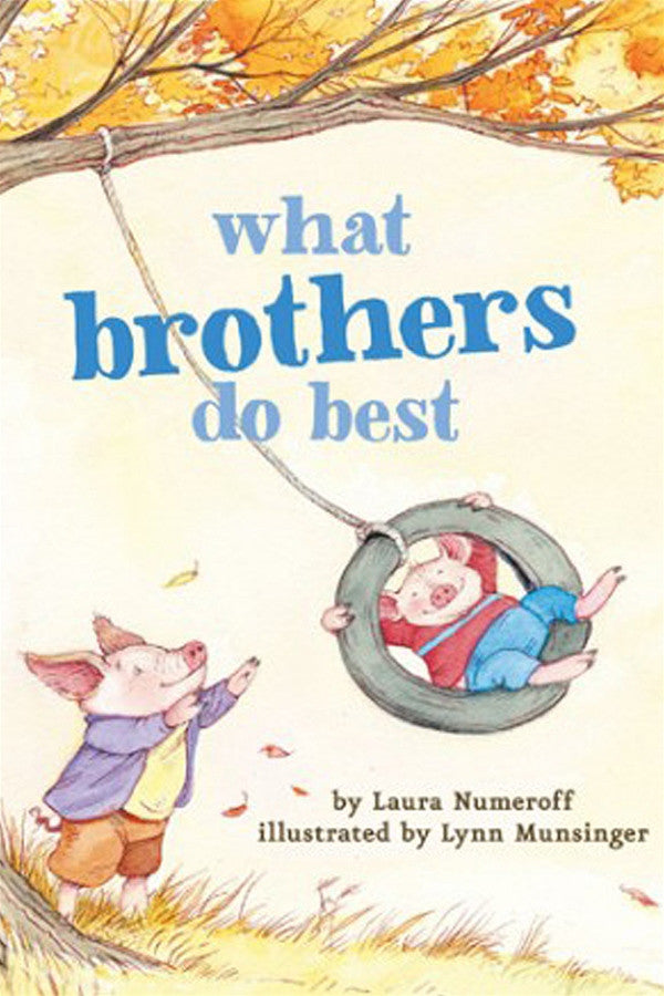 """What Brothers Do Best"" Book"