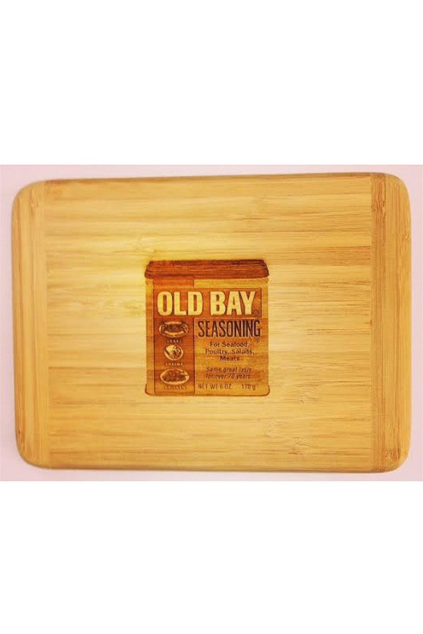Bamboo Cutting Board - Old Bay