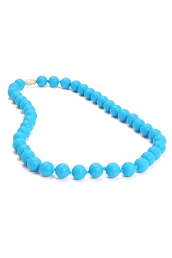Jane Baby Teething Necklace - Deep Sea Blue