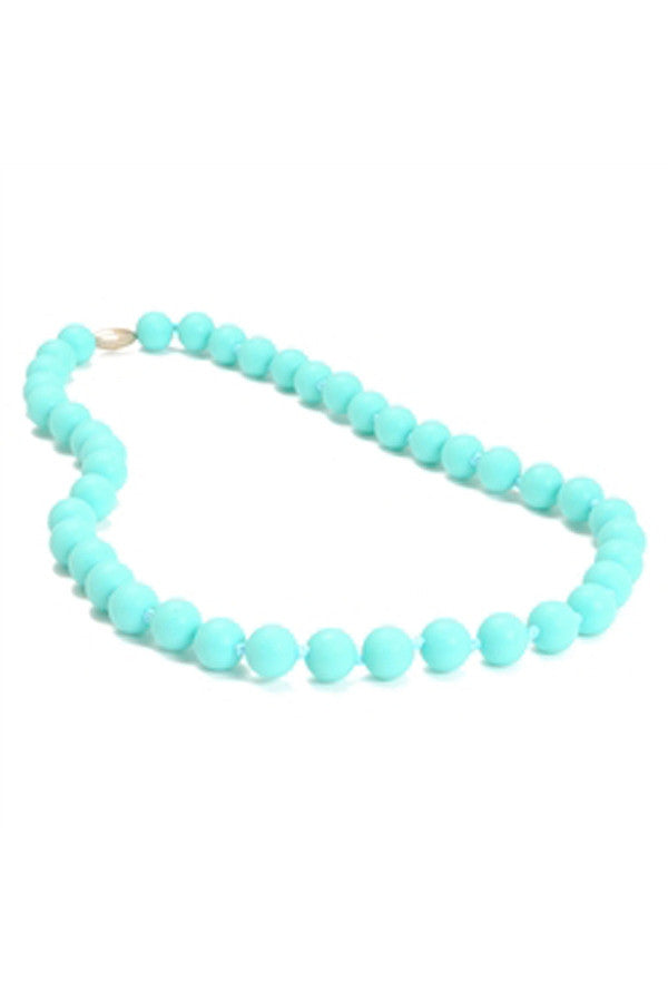 Jane Baby Teething Necklace - Turquoise