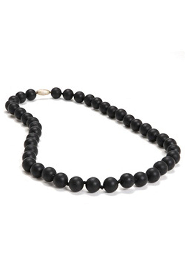 Jane Baby Teething Necklace - Black