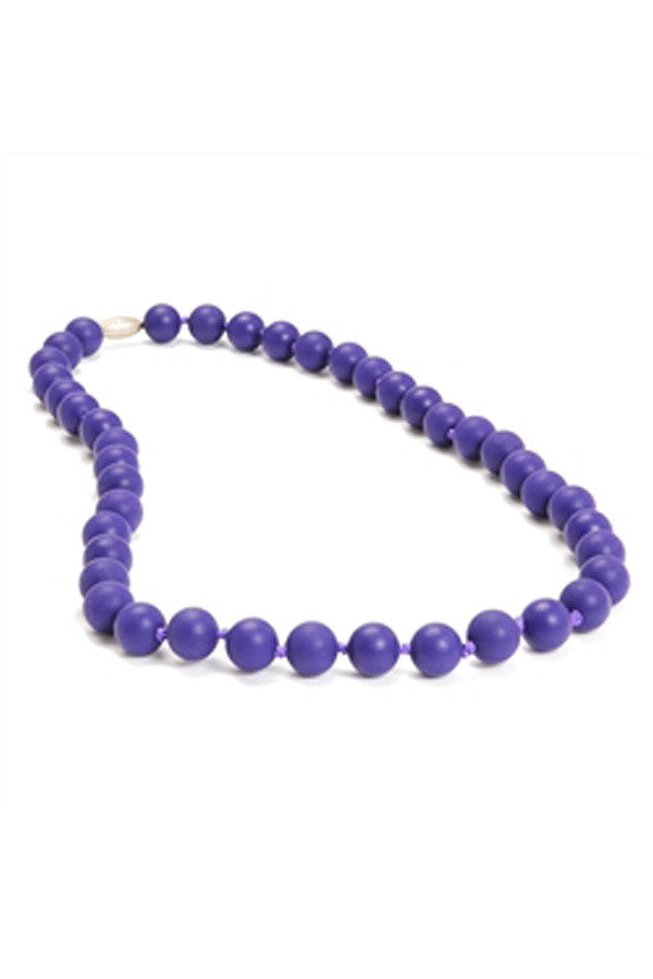 Jane Baby Teething Necklace - Classic Purple