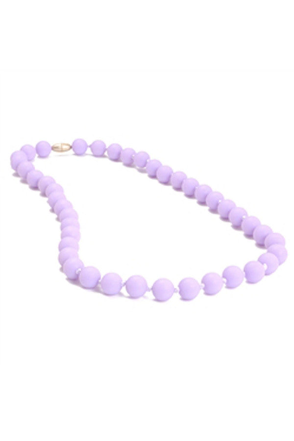 Jane Baby Teething Necklace - Violet